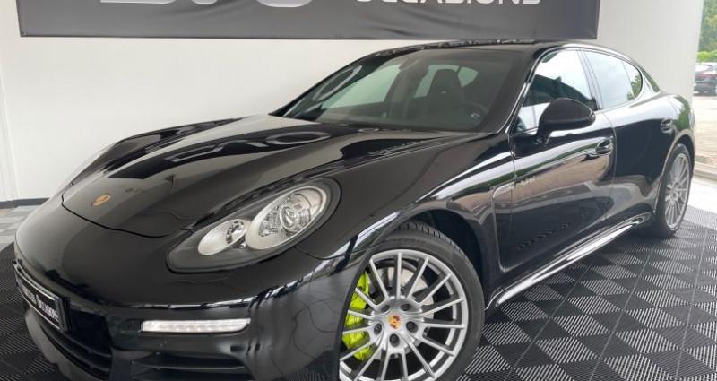 Porsche Panamera II SE-HYBRID 20CV Noir occasion à DOUAI - photo n°2