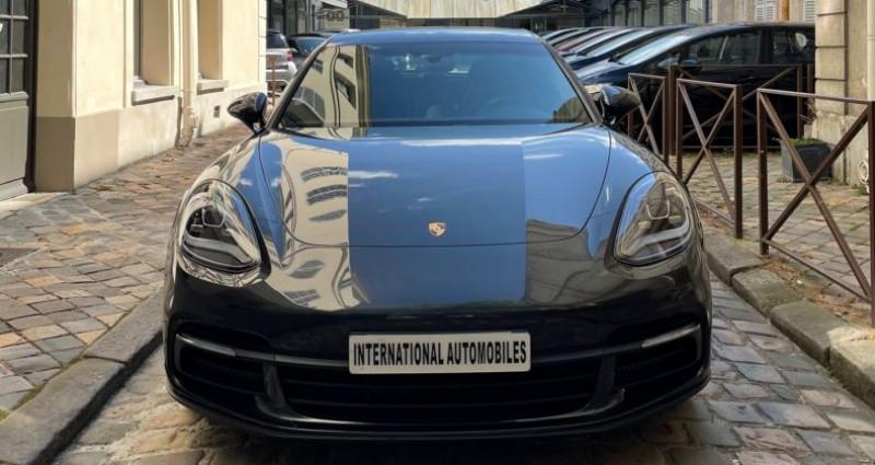 Porsche Panamera II SPORT TURISMO 4 E-HYBRID Gris occasion à Versailles - photo n°2