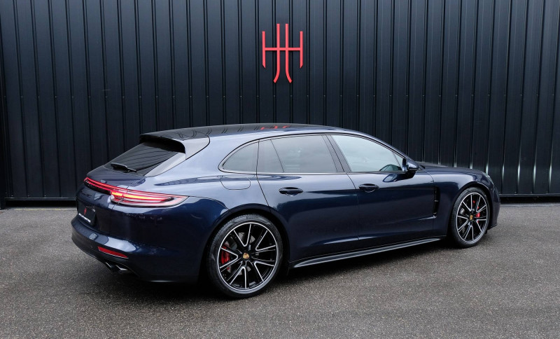 Porsche Panamera Panamera V8 4.0 460 PDK GTS Sport Turismo 5p Bleu occasion à Seynod - photo n°8