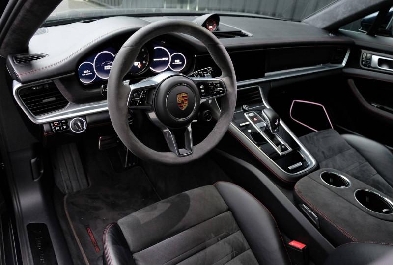 Porsche Panamera Panamera V8 4.0 460 PDK GTS Sport Turismo 5p Bleu occasion à Seynod - photo n°17