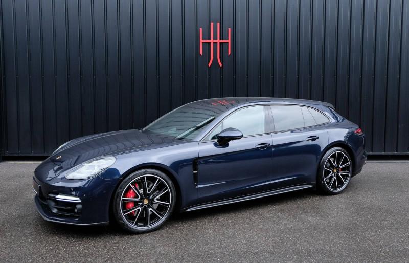 Porsche Panamera Panamera V8 4.0 460 PDK GTS Sport Turismo 5p Bleu occasion à Seynod - photo n°5
