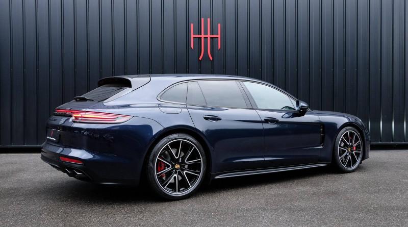 Porsche Panamera Panamera V8 4.0 460 PDK GTS Sport Turismo 5p Bleu occasion à Seynod - photo n°9