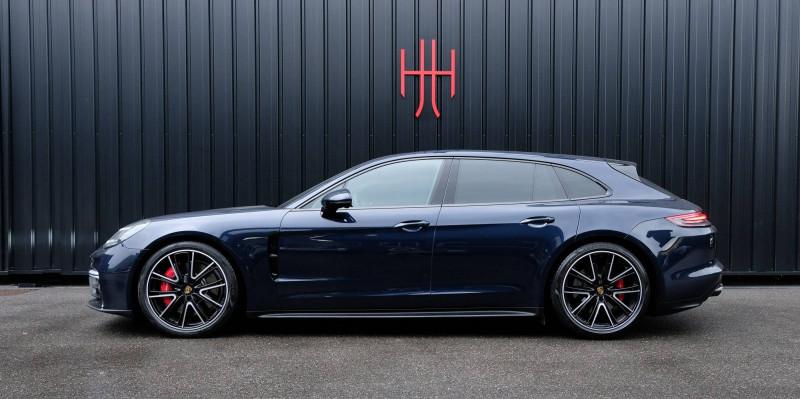 Porsche Panamera Panamera V8 4.0 460 PDK GTS Sport Turismo 5p Bleu occasion à Seynod
