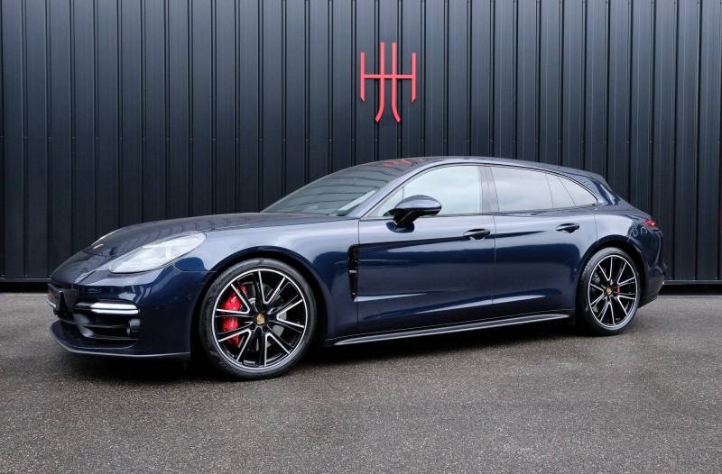 Porsche Panamera Panamera V8 4.0 460 PDK GTS Sport Turismo 5p Bleu occasion à Seynod - photo n°6