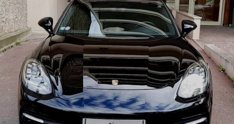 Porsche Panamera PORSCHE PANAMERA II SPORT TURISMO 4 E-HYBRID 19CV Noir occasion à Saint-maur-des-fossés - photo n°2