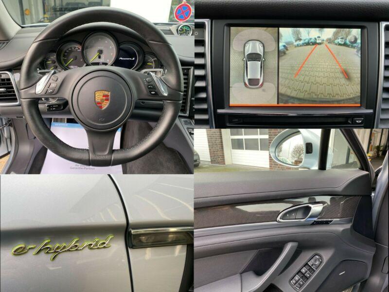 Porsche Panamera S 4 E-Hybrid Gris occasion à BEAUPUY - photo n°8