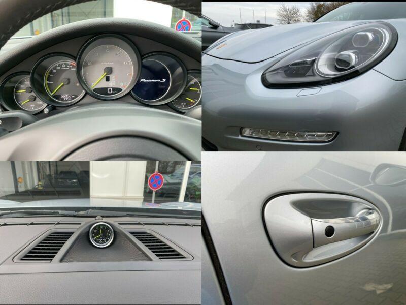 Porsche Panamera S 4 E-Hybrid Gris occasion à BEAUPUY - photo n°9