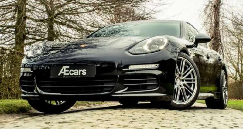 Porsche Panamera S PDLS+ - PDC - CHRONO - CARBON INTERIOR Noir occasion à IZEGEM - photo n°2