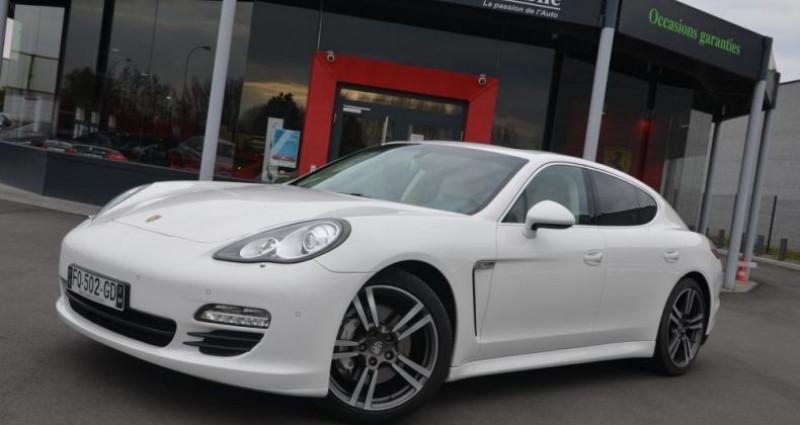 Porsche Panamera S V8 4.8 400CV - BOITE MANUELLE Blanc occasion à Saint Amand Les Eaux