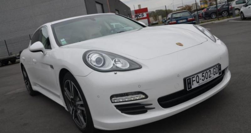 Porsche Panamera S V8 4.8 400CV - BOITE MANUELLE Blanc occasion à Saint Amand Les Eaux - photo n°6