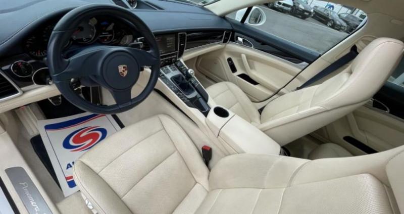 Porsche Panamera S V8 4.8 400CV - BOITE MANUELLE Blanc occasion à Saint Amand Les Eaux - photo n°7