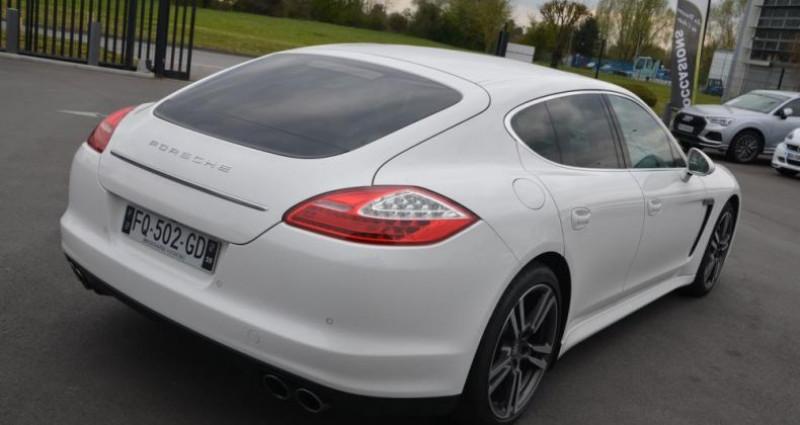 Porsche Panamera S V8 4.8 400CV - BOITE MANUELLE Blanc occasion à Saint Amand Les Eaux - photo n°4