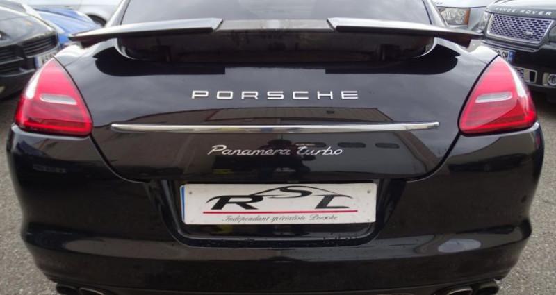 Porsche Panamera TURBO 4.8L 500PS PDK/ PASM ACC JTES 20 Camera Bose Noir occasion à CHASSIEU - photo n°7