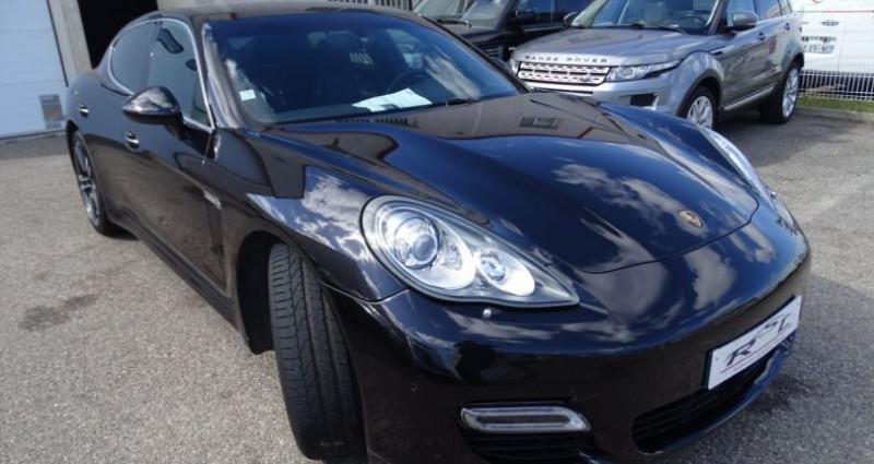 Porsche Panamera TURBO 4.8L 500PS PDK/ PASM ACC JTES 20 Camera Bose Noir occasion à CHASSIEU - photo n°2