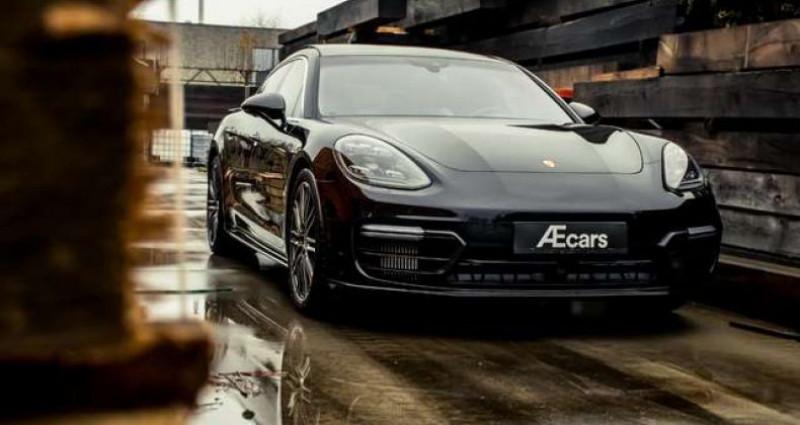 Porsche Panamera TURBO EXECUTIVE - V8 - CERAMIC - BURMESTER Noir occasion à IZEGEM - photo n°6
