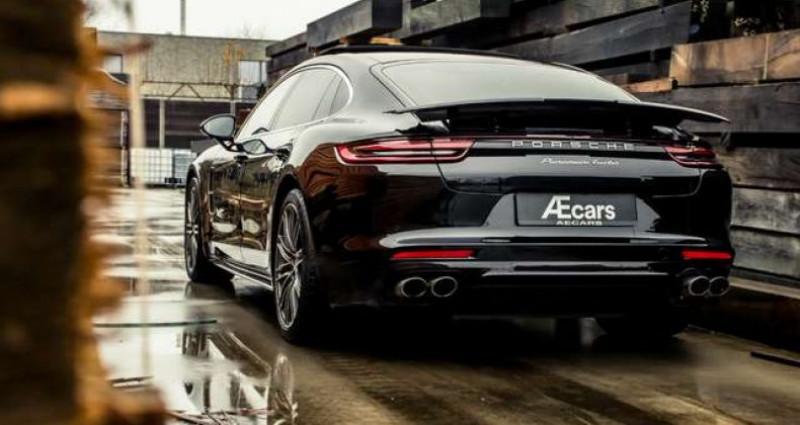 Porsche Panamera TURBO EXECUTIVE - V8 - CERAMIC - BURMESTER Noir occasion à IZEGEM - photo n°5