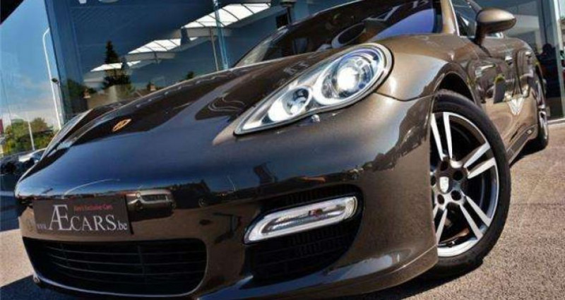 Porsche Panamera TURBO - PDK - 1 OWNER - FULL - BELGIAN CAR Gris occasion à IZEGEM