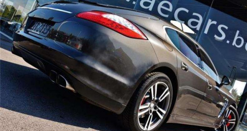Porsche Panamera TURBO - PDK - 1 OWNER - FULL - BELGIAN CAR Gris occasion à IZEGEM - photo n°4
