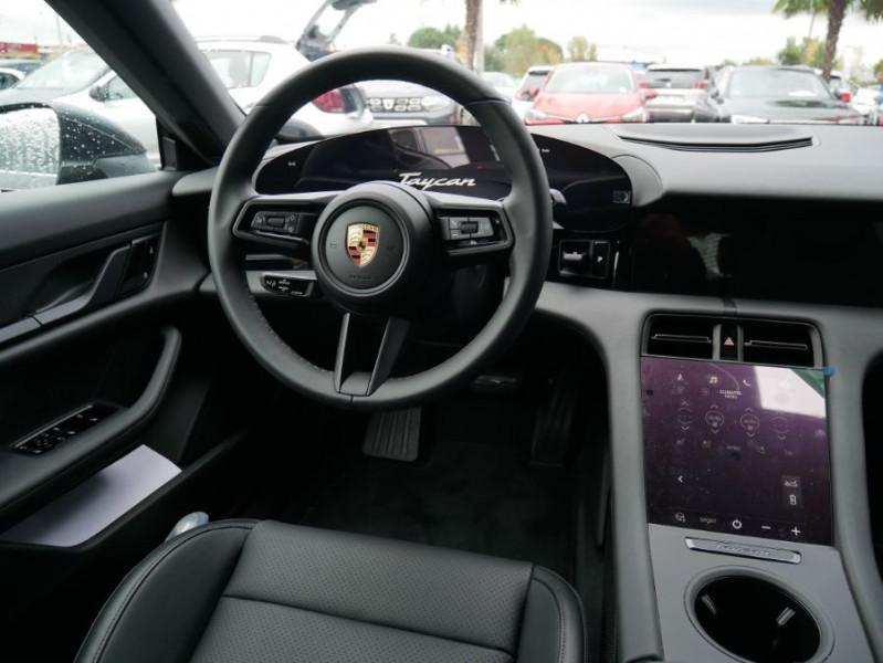 Porsche Taycan 4S Batt. Perf.93.4kWh Toit Pano. Caméra de Recul 5 places Gris occasion à Lescure-d'Albigeois - photo n°11