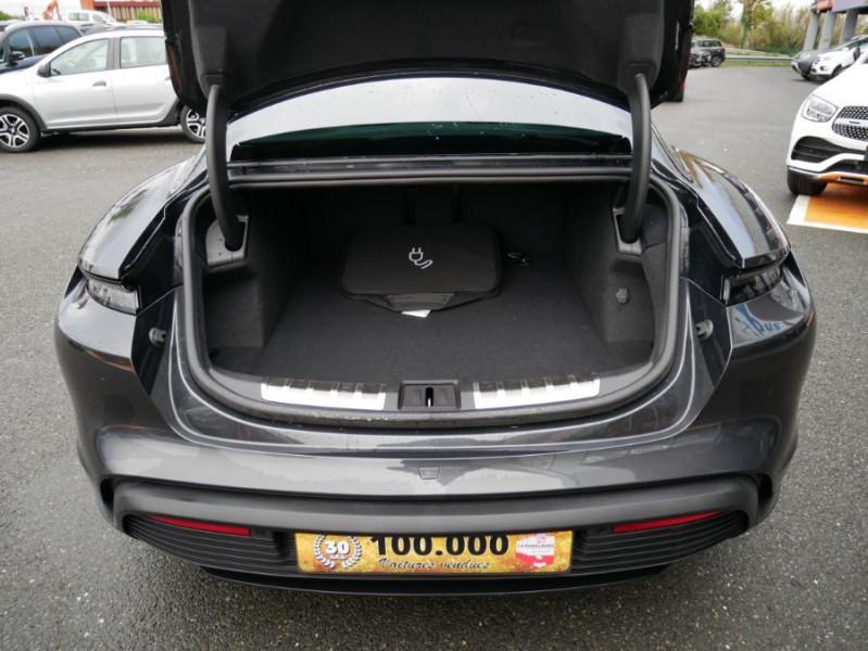Porsche Taycan 4S Batt. Perf.93.4kWh Toit Pano. Caméra de Recul 5 places Gris occasion à Lescure-d'Albigeois - photo n°9