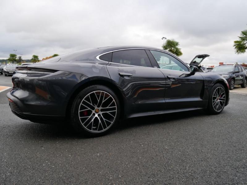 Porsche Taycan 4S Batt. Perf.93.4kWh Toit Pano. Caméra de Recul 5 places Gris occasion à Lescure-d'Albigeois - photo n°8