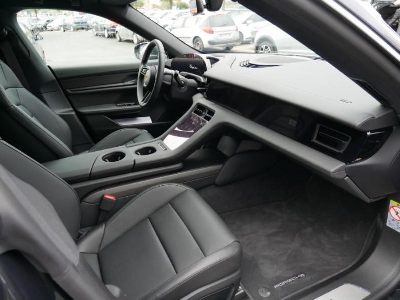 Porsche Taycan 4S Batt. Perf.93.4kWh Toit Pano. Caméra de Recul 5 places Gris occasion à Lescure-d'Albigeois - photo n°5