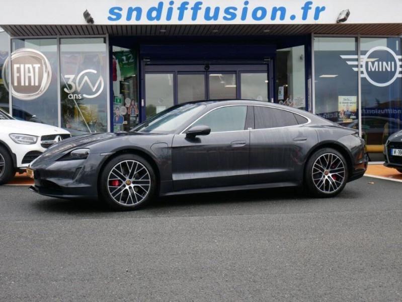 Porsche Taycan 4S Batt. Perf.93.4kWh Toit Pano. Caméra de Recul 5 places Gris occasion à Lescure-d'Albigeois