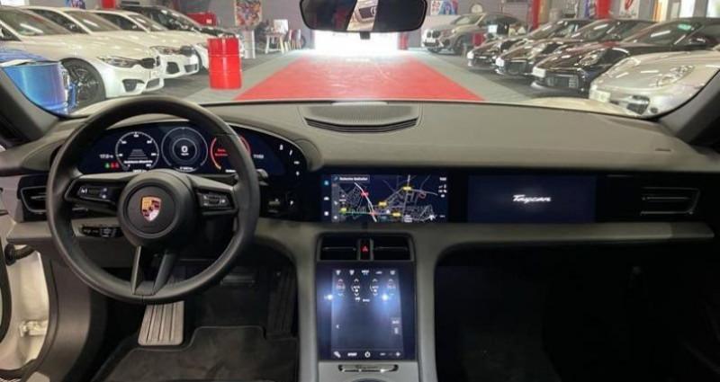 Porsche Taycan 4s BATTERIE PLUS 571CV Blanc occasion à Brie-Comte-Robert - photo n°5