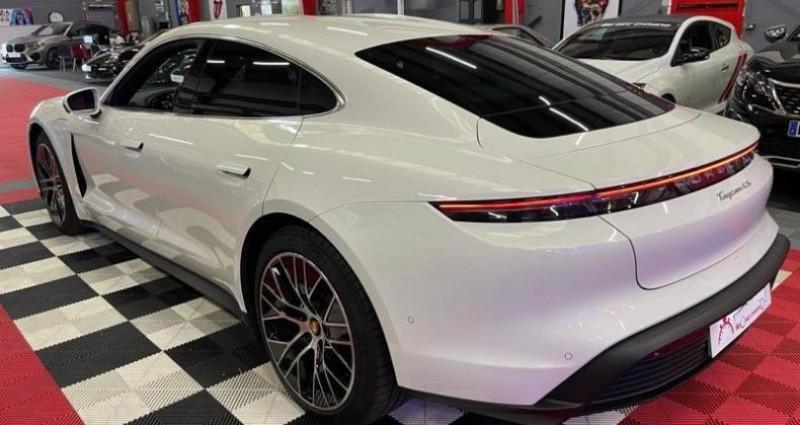 Porsche Taycan 4s BATTERIE PLUS 571CV Blanc occasion à Brie-Comte-Robert - photo n°3