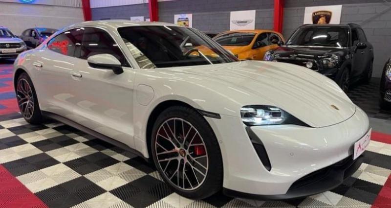 Porsche Taycan 4s BATTERIE PLUS 571CV Blanc occasion à Brie-Comte-Robert - photo n°2