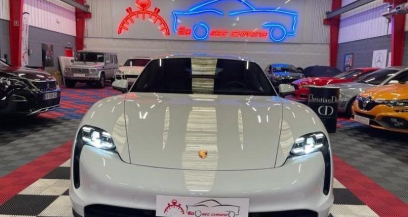 Porsche Taycan 4s BATTERIE PLUS 571CV Blanc occasion à Brie-Comte-Robert