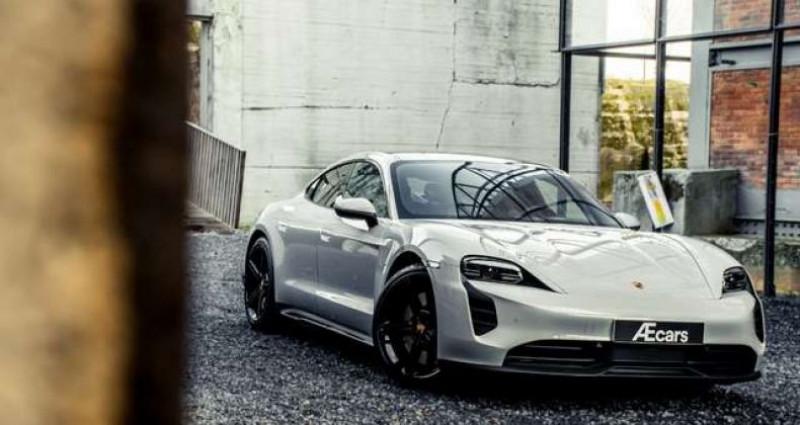 Porsche Taycan 4S SPORT DESIGN PACK - PSCB - 21' MISSION E Gris occasion à IZEGEM - photo n°2