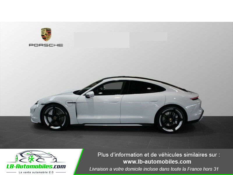 Porsche Taycan 680 ch / Turbo Blanc occasion à Beaupuy - photo n°12
