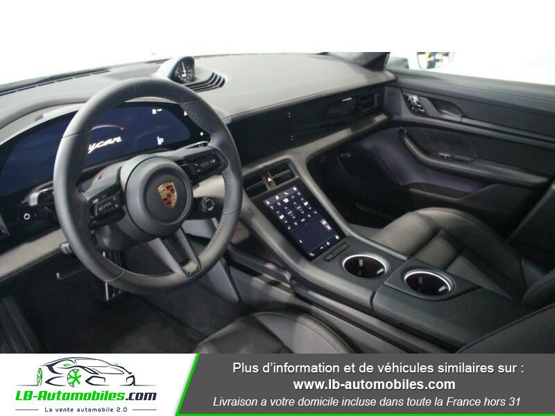 Porsche Taycan 680 ch / Turbo Blanc occasion à Beaupuy - photo n°2