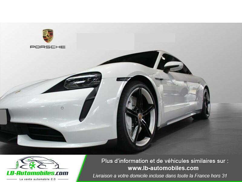 Porsche Taycan 680 ch / Turbo Blanc occasion à Beaupuy - photo n°11