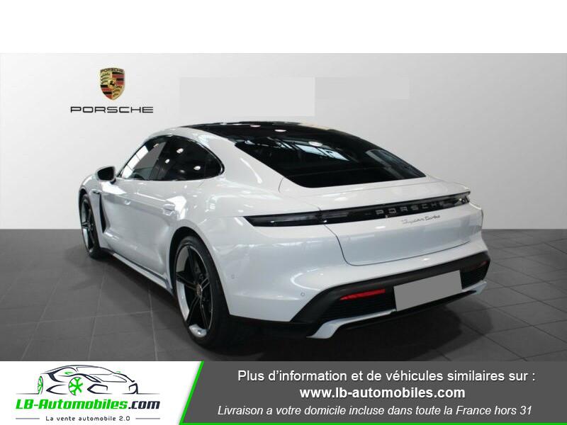 Porsche Taycan 680 ch / Turbo Blanc occasion à Beaupuy - photo n°3