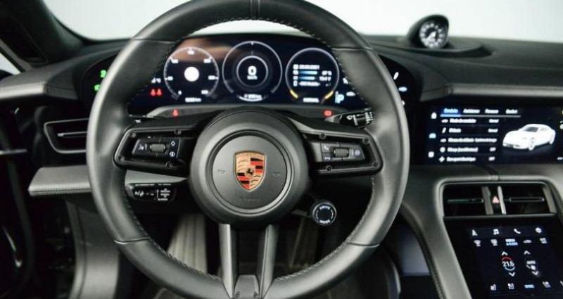 Porsche Taycan TURBO 680 CH Gris occasion à Paris - photo n°5