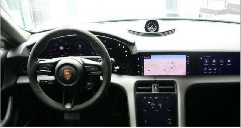 Porsche Taycan Turbo Blanc occasion à Boulogne-Billancourt - photo n°4