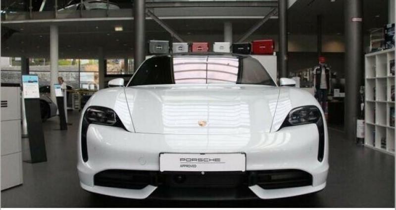Porsche Taycan Turbo Blanc occasion à Boulogne-Billancourt - photo n°5