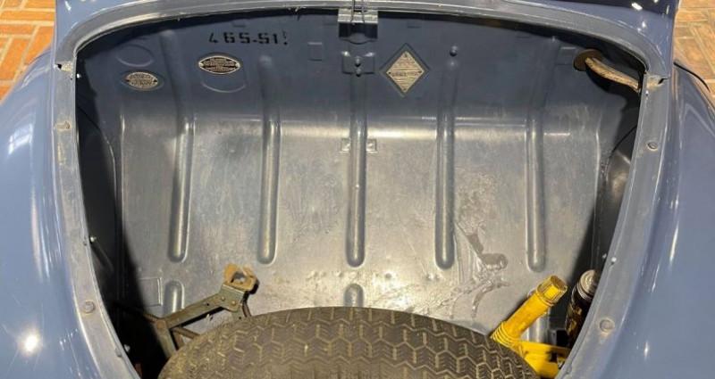 Renault 4 CV Strictement d'origine ! Bleu occasion à LA ROCHEFOUCAULD en ANGOUMOIS - photo n°6