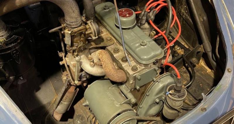 Renault 4 CV Strictement d'origine ! Bleu occasion à LA ROCHEFOUCAULD en ANGOUMOIS - photo n°7