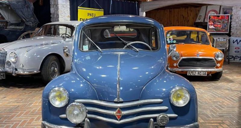 Renault 4 CV Strictement d'origine ! Bleu occasion à LA ROCHEFOUCAULD en ANGOUMOIS - photo n°4