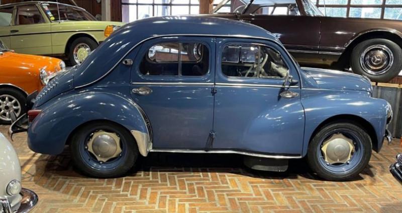 Renault 4 CV Strictement d'origine ! Bleu occasion à LA ROCHEFOUCAULD en ANGOUMOIS - photo n°2
