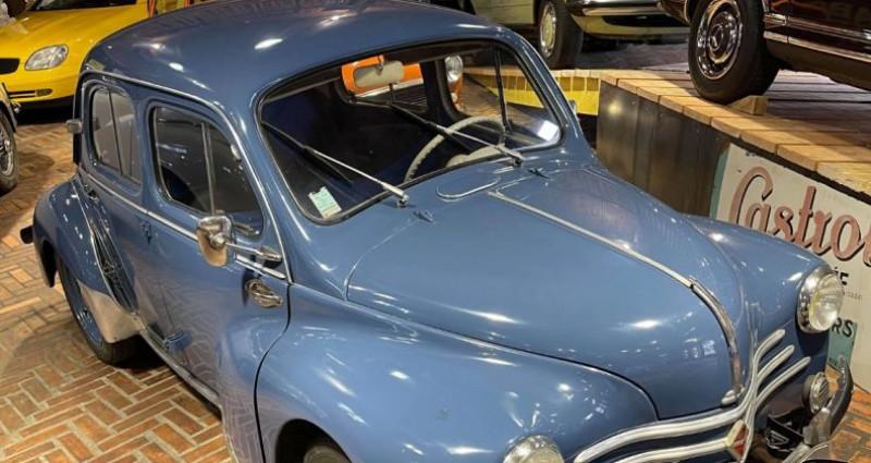Renault 4 CV Strictement d'origine ! Bleu occasion à LA ROCHEFOUCAULD en ANGOUMOIS