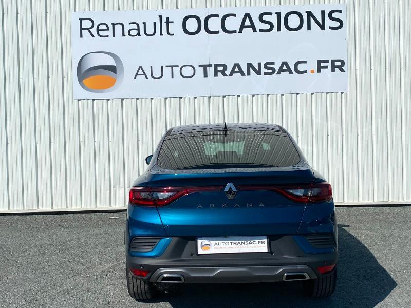 Renault Arkana 1.3 TCe 140ch RS Line EDC -21B Bleu occasion à Aurillac - photo n°5