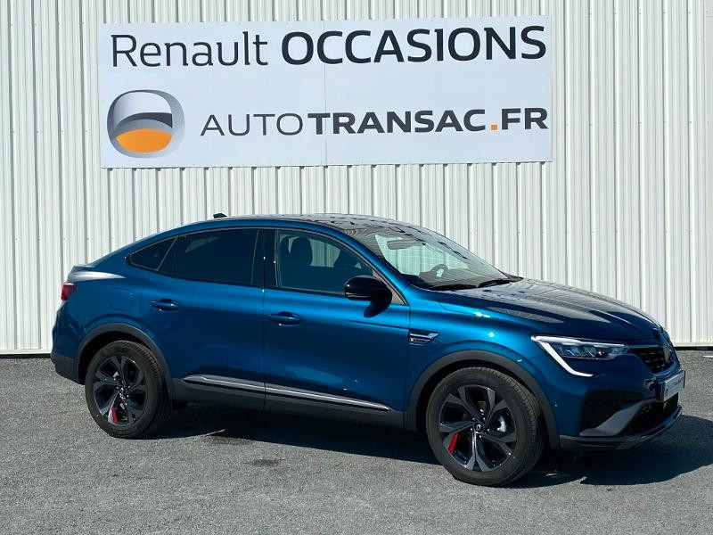 Renault Arkana 1.3 TCe 140ch RS Line EDC -21B Bleu occasion à Aurillac - photo n°3