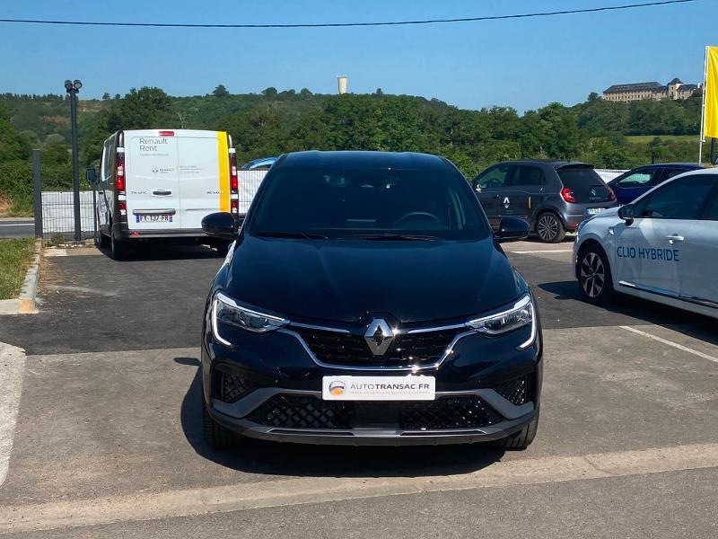 Renault Arkana 1.3 TCe 140ch RS Line EDC -21B Noir occasion à Aurillac - photo n°2
