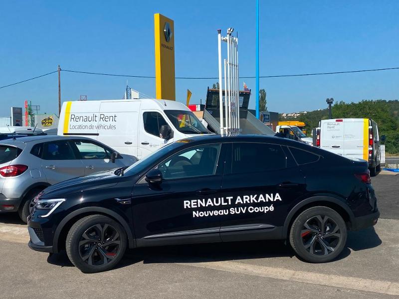 Renault Arkana 1.3 TCe 140ch RS Line EDC -21B Noir occasion à Aurillac - photo n°6