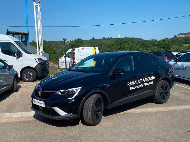 Renault Arkana 1.3 TCe 140ch RS Line EDC -21B Noir occasion à Aurillac - photo n°4