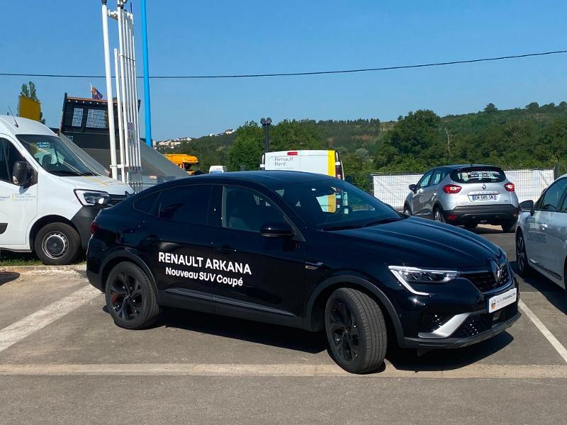 Renault Arkana 1.3 TCe 140ch RS Line EDC -21B Noir occasion à Aurillac